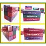 6 Unidades - Container 40 Pés Diversos Ho 1/87 Hbm Maquete