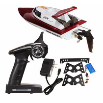 Lancha High Speed Racing Boat 4ch 2.4ghz Rc Rtr Ft007