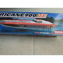 Lancha Kyosho, Hurricane 900 Ve, Completa C/ Radio,