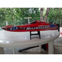 Catamarã Quanum Relentless Brushless +60km Spartan Lancha
