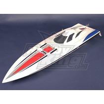 Lancha Rc Vanquish Brushless V-hull - 1075mm