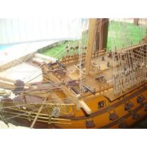 Réplica De Navio De Guerra Ingles De 1790