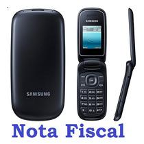 Celular Samsung E1270 - Flip - Lindo - Fácil - Prático 100%+