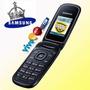 Celular Samsung Flip E1270 Desbloqueado Fm Lindo E Prático