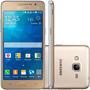 Celular Barato Galaxy Gran Prime Tela 5 Dourado 3g S/ Juros