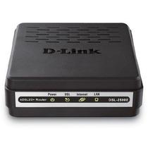 Modem D-link Adsl2+ 2500e Novo Original Com Kit Oi Velox