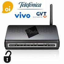 Modem Roteador Wireless Adsl2+ D-link Dsl-2730b Oi Gvt Vivo