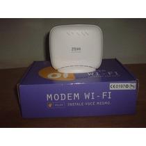 Modem Zxv10 W300 Adsl Zte Wifi Retirado Da Caixa E Testado