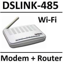 Modem Roteador Adsl+ Wifi Opticom Dslink 485 D-link Tp-link