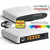 Modem Roteador Wi-fi Thomson Technicolor Td5130 Oi Velox