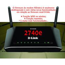 Novo Desbloqueio Modem Gvt Dsl-2740e P/ Firm Nd300v2