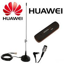 Kit Modem 3g Huawei E173 Com Antena Externa Rural