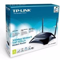 Moden Roteador Wireless Gateway Voip Tp-link Td-vg 3631 2usb