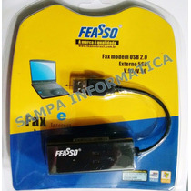 Fax Modem 56k Externo Usb P/ Discada - Vista - Xp - 7 Seven