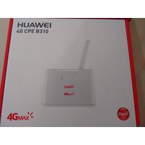 Modem Roteador 3g 4g Huawei Cpe B310 Chip Desblo Todas Ope