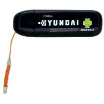 Modem 3g Yundai 7.2mbps - Desbloqueado - Preto - Na Caixa!