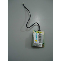 Placa Mini Modem Para Notebook Lg R400 Com Cabo