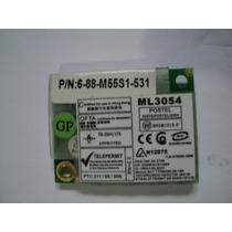 Modem Notebook Motorola Ml3054 Positivo Z520 6-88-m55s1-531