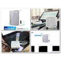 Modem, Roteador Tp-link Router Tl-mr3020 3g Portatil 150mbps