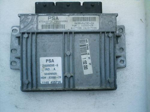 Modulo Citroen Xsara Sagem Psa 2000