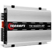Modulo Taramps Ts 400x4 Ef 400w Rms 2 Ohms Projeto Som Carro