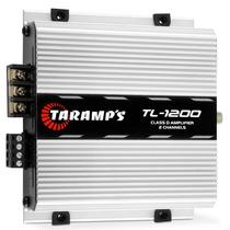 Módulo Taramps Tl 1200 260w Rms Rca 2 Canais Amplificador