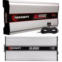 Amplificador Taramps Hd-10000 + Hd-8000 + Frete Grátis