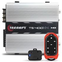 Modulo Taramps Ts400 De 4 Canais 400w Rms + Controle Tlc3000