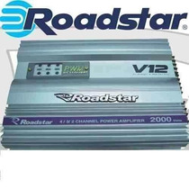 Módulo Amplificador Roadstar Rs-v12 2000watts