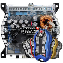 Modulo Stetsom Vs600.4 Digital Vs600 4 Canais + Controle Sx2