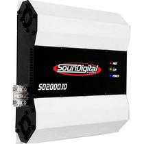 Módulo Amplificador Sd2000 Sd 2000 2kw Rms + Frete Gratis