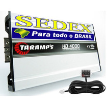 Módulo Amplificador Hd4000 Digital 4798w Rms Taramps + Sedex