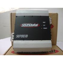 Amplificador Soundigital Sd700.1d Sd700 Sd 700 + Brinde