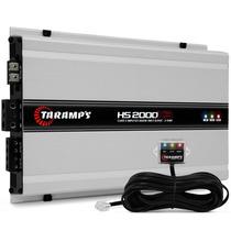 Modulo Taramps Hs2000 X3 2000 3 Canais Amplificador + Brinde