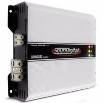 Módulo 1600 W 1600 Rms Sound Digital!