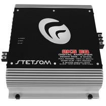 Amplificador Stetsom 2k5 Eq 2500w 1 Ohm Modulo 1 Canal