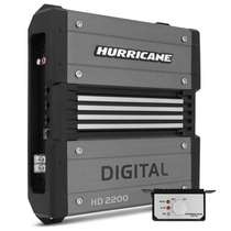 Modulo Amplificador Hurricane Hd 2200 Digital 2.200w Rms Som