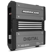 Amplificador Hurricane Hd1600 Digital 1600w Rms 1 Canal 2ohm