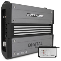 Modulo Amplificador Hurricane Hd2800 Digital 2800w Rms 1 Can