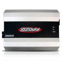 Módulo Soundigital Sd5000.1d - 1 Canal 5000w Rms (2 Ohms)