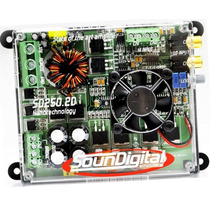 Modulo Amplificador Soundigital Sd 250.2 Digital 300w Rms