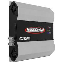 Amplifidor Soundigital Sd3500 Sd 3500 Rms Som + Frete Gratis