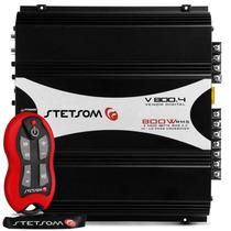 Amplificador Stetsom Stereo Módulo V800.4 800w Rms 4 Canais