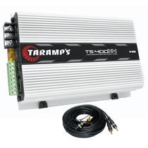 Modulo Potencia Taramps Ts400 Mono Stereo Amplificador Rca