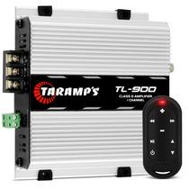 Modulo Taramps Tl900 + Controle Distancia Tlc 3000 Som Carro