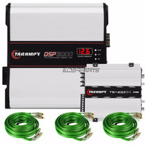 Kit Taramps Hd3000 Wrms 2 Ohms + Ts 400 4x 400 Wrms