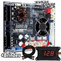 Mod. Amplificador Sd Soundigital 250 2d + Voltimetro + Frete