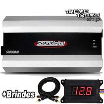 Modulo Amplificador Sd Soundigital 12000 12kd 12v + Brindes