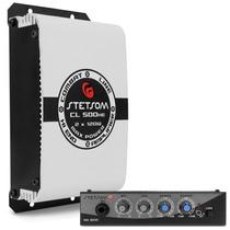 Modulo Amplificador Cl500 Hf + Mixer Ma 1200 Kit Propaganda