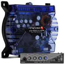 Modulo Amplificador Vs400.4 + Mixer Ma 1300 Kit Propaganda